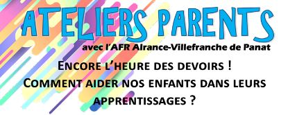 ATELIERS Parents Cycle 1