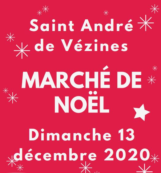 Marché de Noêl de Saint-André de Vézines