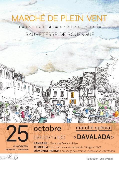 Marché spécial DAVALADA
