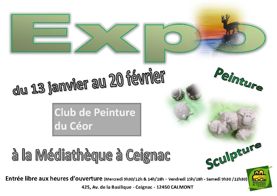 Exposition du Club de Peinture du Céor
