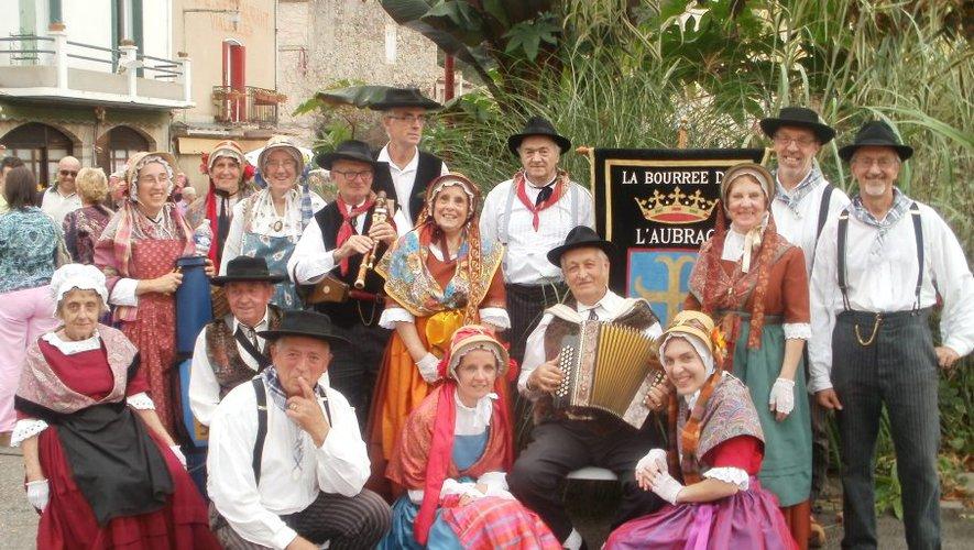 Musiques et danses traditionnelles avec la troupe La bourrée de l'Aubrac
