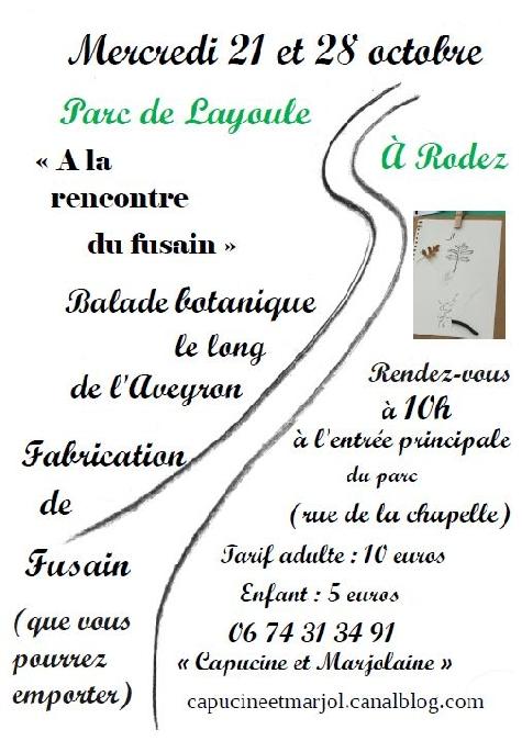 Balades botaniques à Layoule