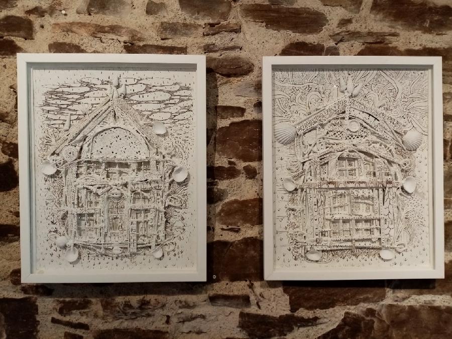 Exposition de Sylvain Corentin