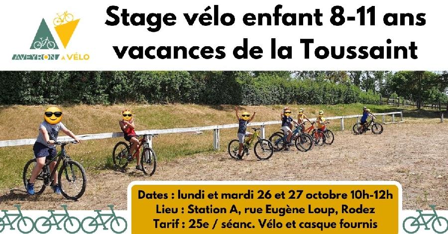Stage de vélo pour les enfants