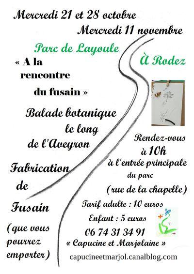 Balades botaniques