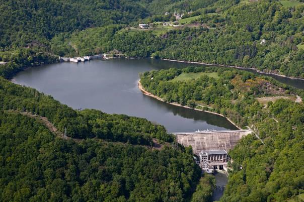 Barrage EDF De Castelnau- Lassouts