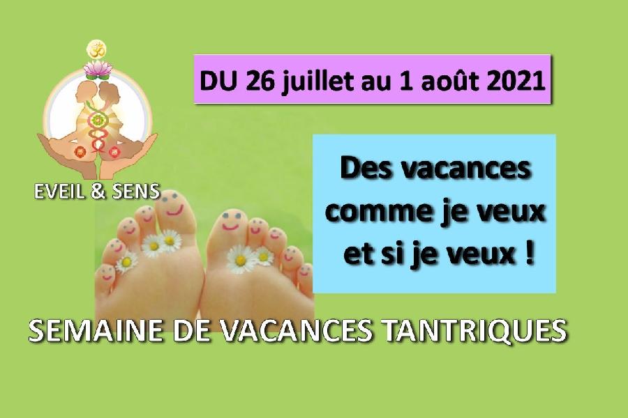 Vacances Tantrique 2021