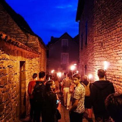 Visites Nocturnes de Villeneuve, OT Villefranche-Najac