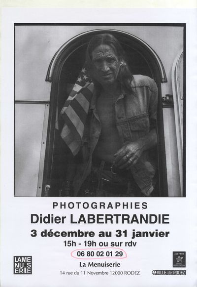 Exposition de photographies : Didier Labertrandie