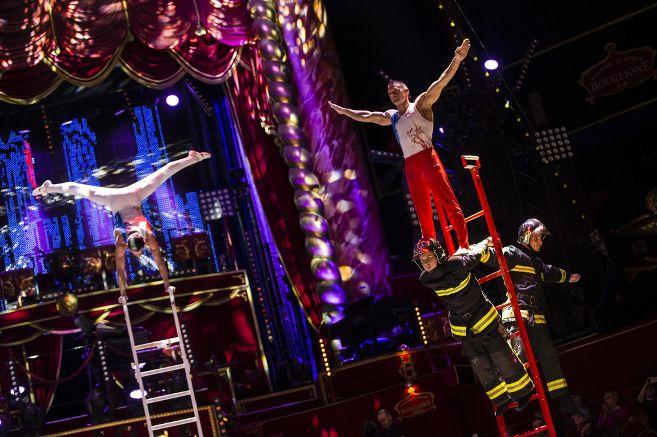Les Sapeurs-Pompiers de Paris en spectacle