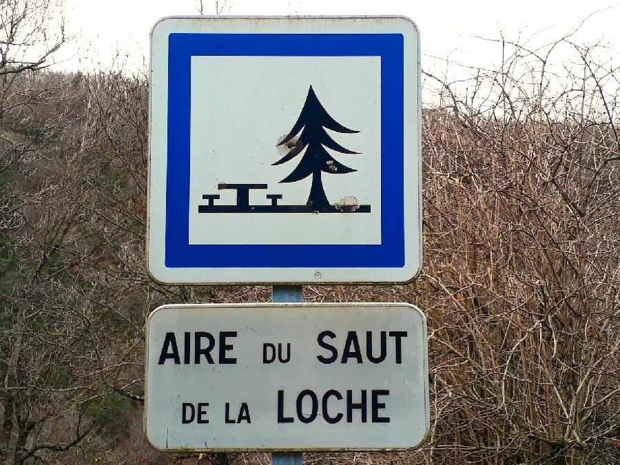 Aire de pique-nique du Saut de la Loche