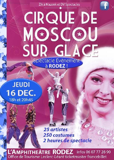 Spectacle : Le Cirque de Moscou sur glace
