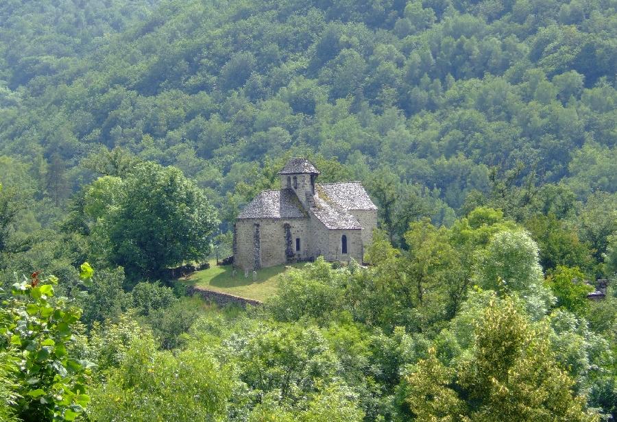 VTT Carladez : La Chapelle de Manhaval