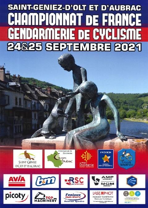 Championnat de France cyclisme de la Gendarmerie Nationale