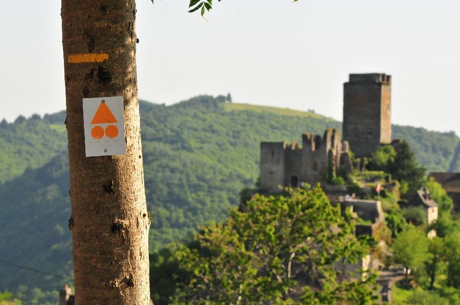 VTT Carladez : Les cimes du château de Valon