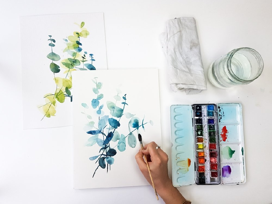 Atelier Initiation à l'aquarelle