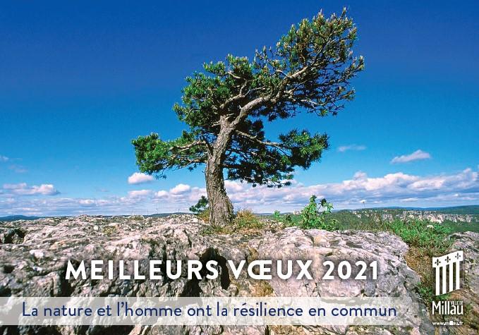 Cérémonie des voeux de la Maire de Millau