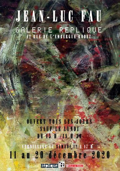 Exposition de peintures de Jean-Luc FAU