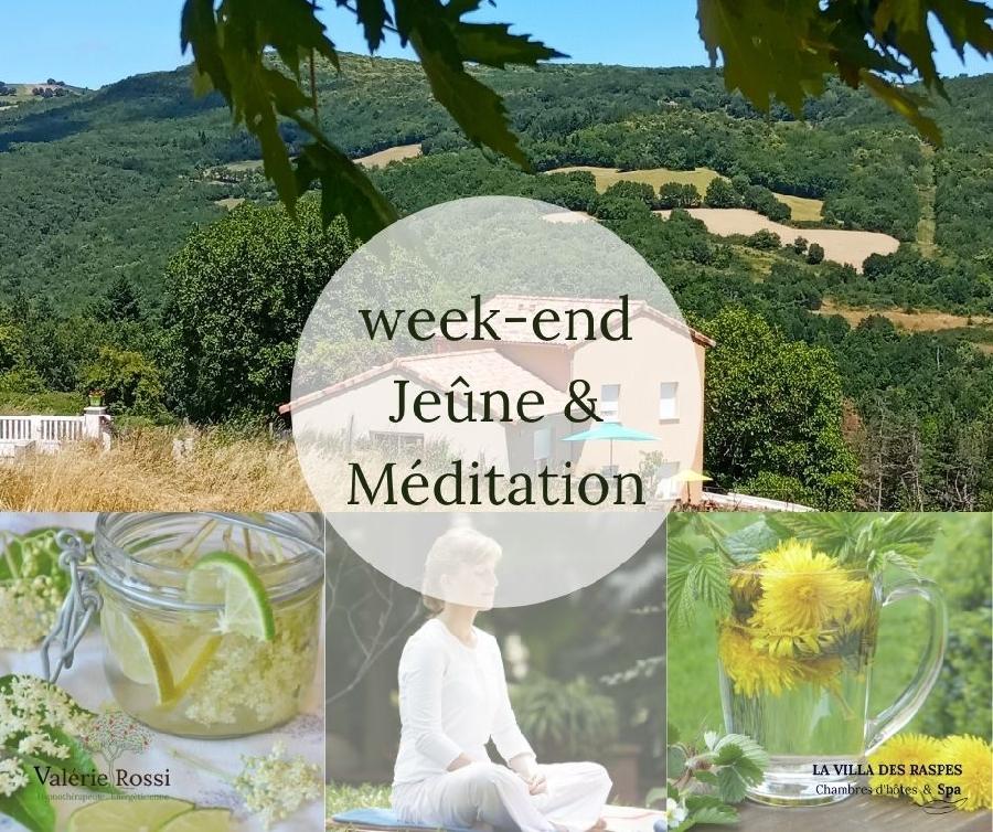 Week-end bien-être - jeune et méditation