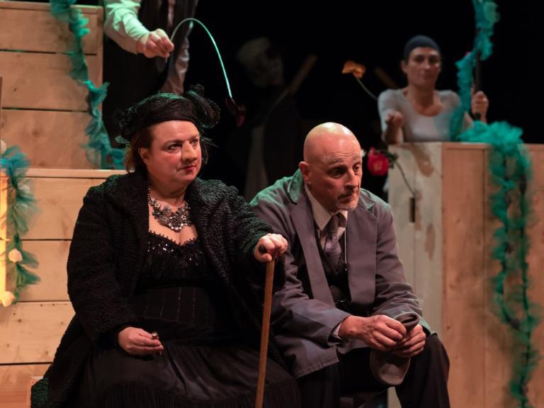 Théatre - La visite de la vieille dame