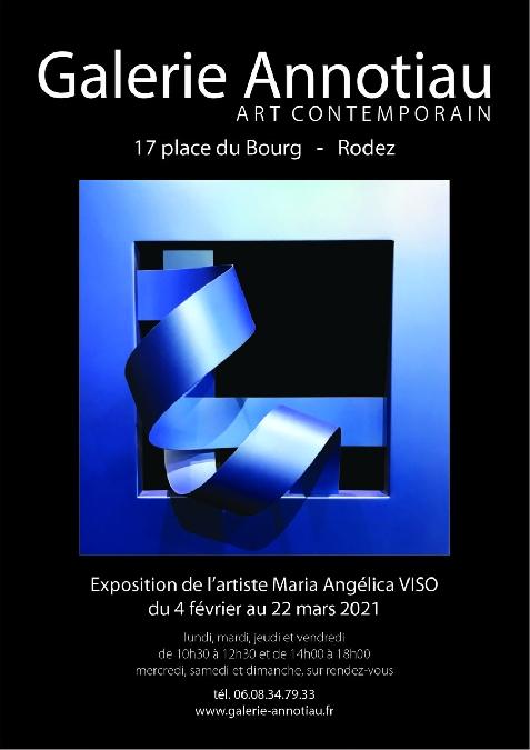 Exposition-vente Maria Angélica VISO