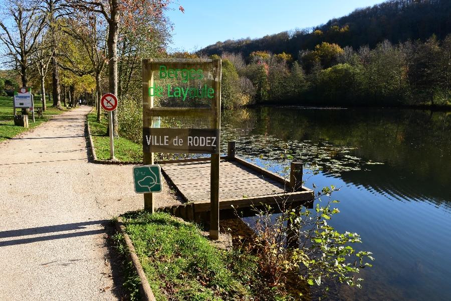L'Aveyron à Layoule (lâchers de truites)