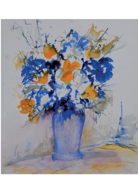 Exposition des aquarelles de Francis Tarayre