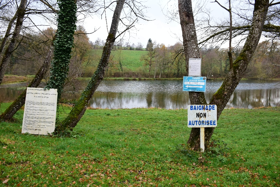 Plan d'eau du Glandou (lâchers de truites- payant)