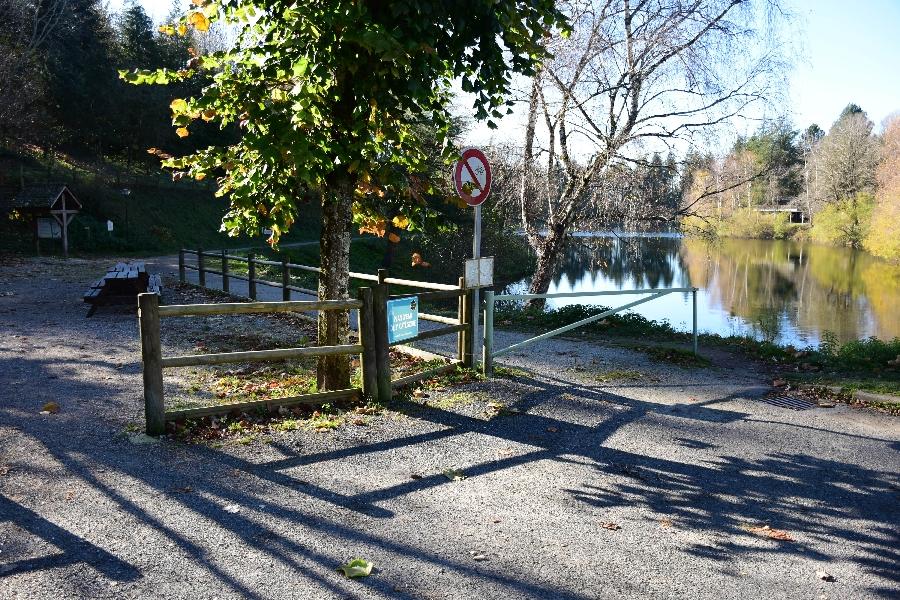 Plan d'eau de la Calquière à Rieupeyroux (lâchers de truites- payant)