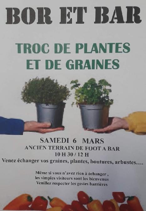 Troc de plantes et de graines