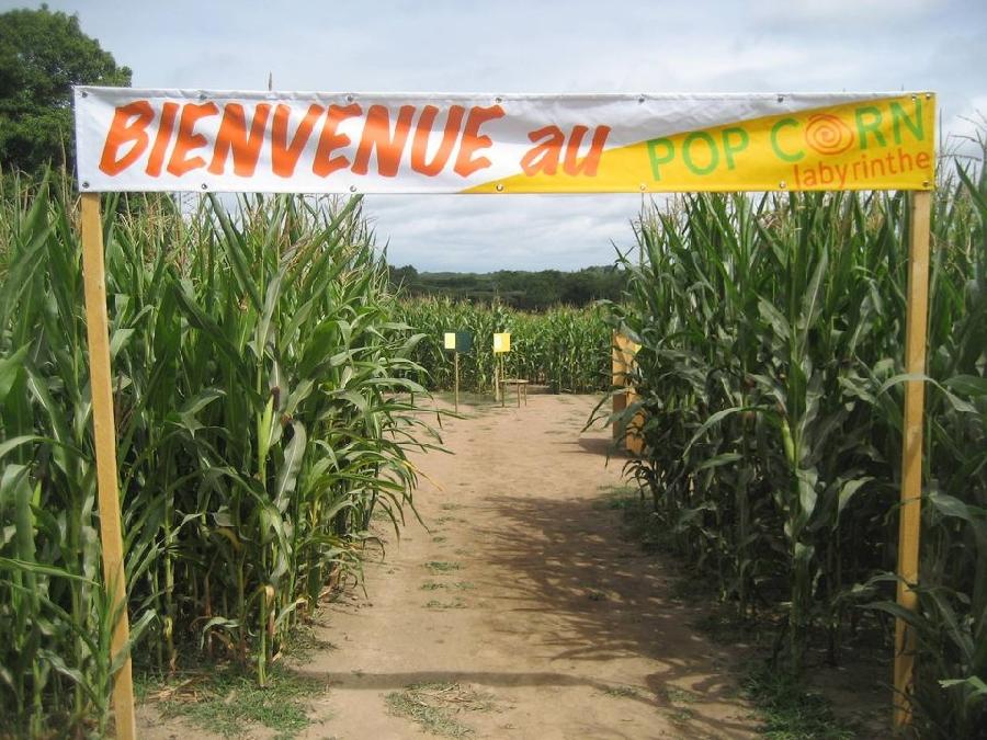 Pop Corn labyrinthe