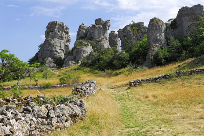 Rando découverte du site de Roquesaltes (Causse Noir) - (ANNULÉE EN AVRIL)