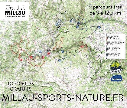 Millau Espace Trail, OFFICE DE TOURISME DE MILLAU
