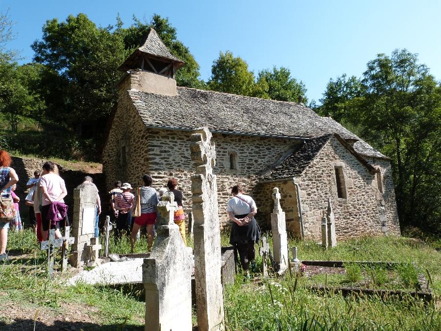 visite commentée de la chapelle de Murat