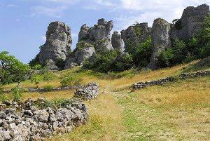 Rando découverte du site de Roquesaltes avec un berger (Causse Noir)