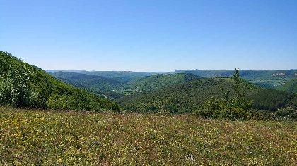 Le Plateau du Guilhaumard, © Elodie Calazel - OT LV