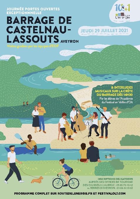 La Route de l'énergie fête ses 10 (+1) ans au barrage de Castelnau-Lassouts !