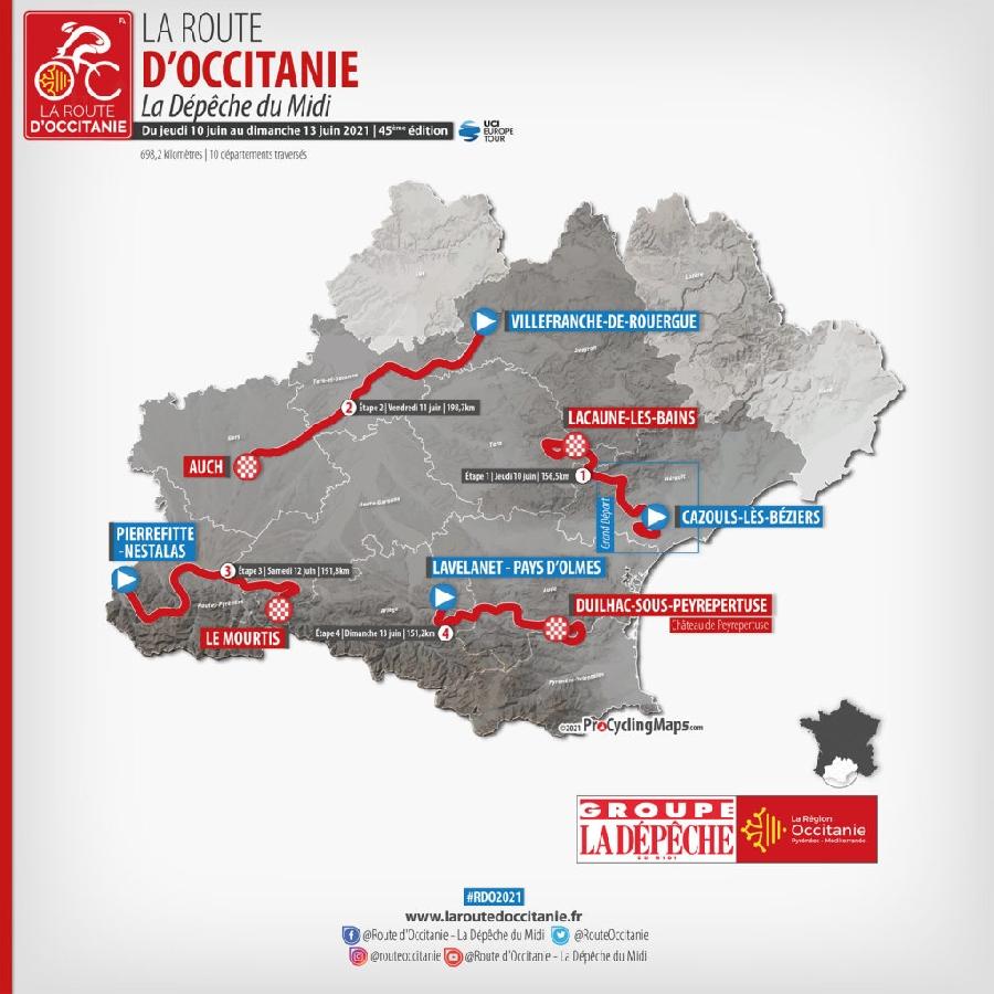 La Route d'Occitanie - Villefranche : ville départ