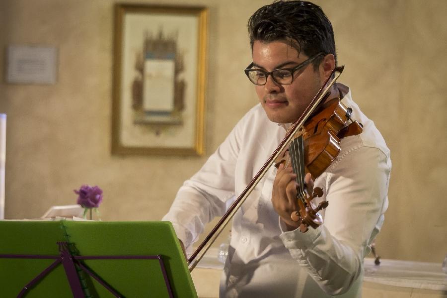 Concert duo piano et violon dans l'Eglise de la Bastide L'Evèque