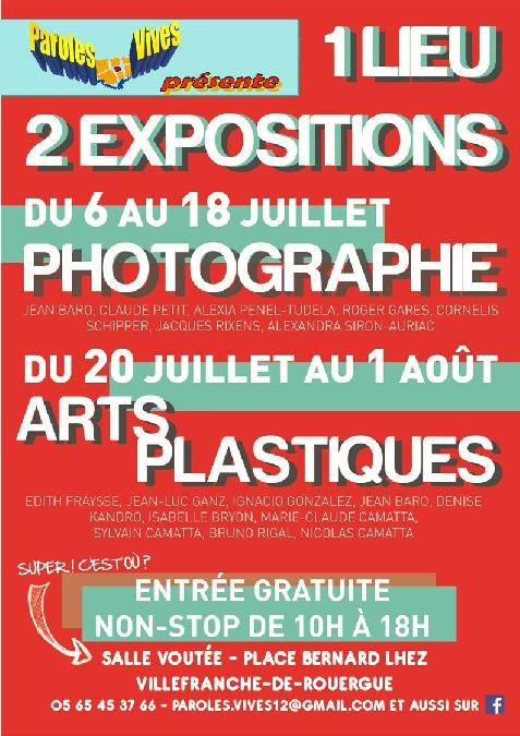 Exposition d'Arts Plastiques - Paroles Vives