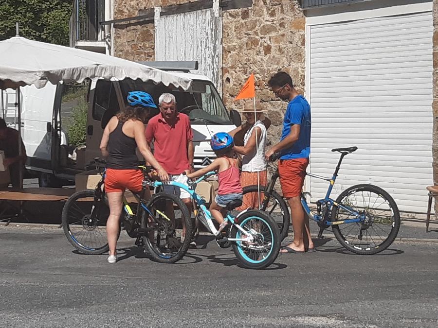 Le Ségala à vélo : vers Cassagnes Begonhes - 40km