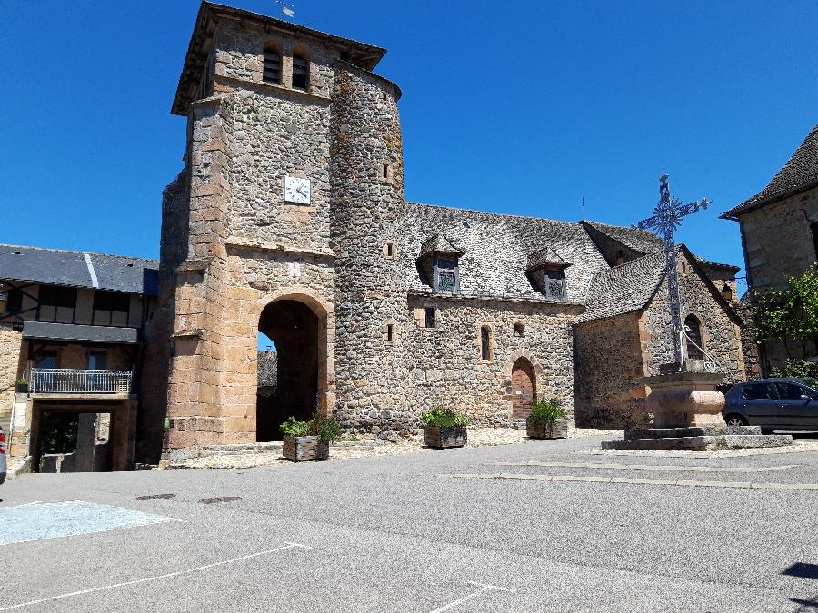 visite découverte en occitan : La Bastide l'Evêque