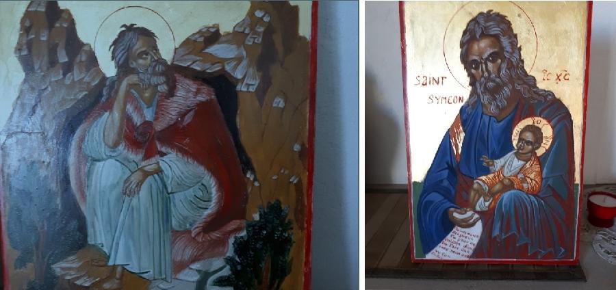 Atelier et exposition Icônes Byzantines
