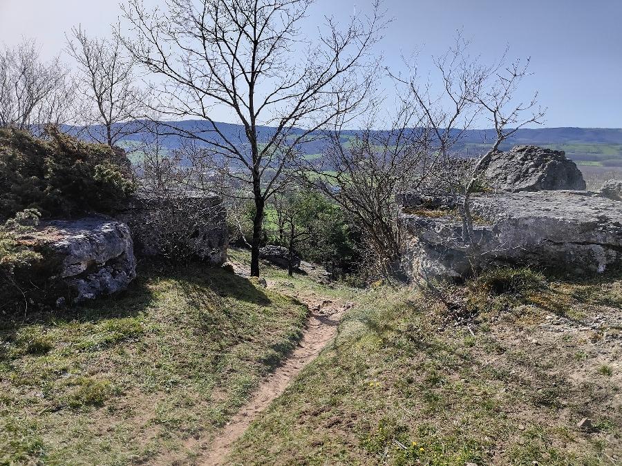 Trail d'Aqui - Montrozier
