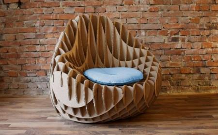 Atelier création d'un meuble en carton