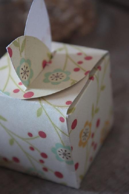 Atelier création d'une boite cadeau