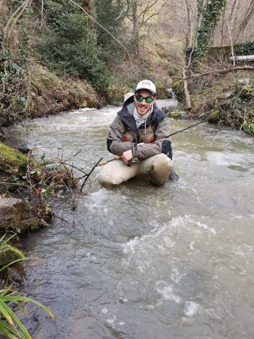 Sylvain Carrié Guide pêche Aveyron