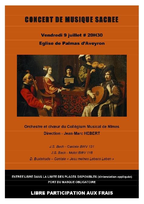 Concert de musique sacrée en l'Église de Palmas