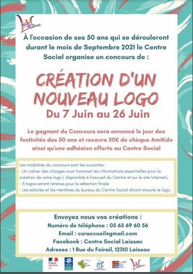 Centre Social : concours du nouveau logo