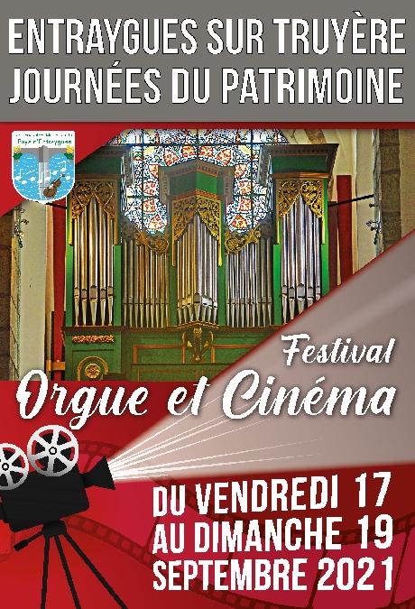 Journée du patrimoine - Festival Orgue et cinéma